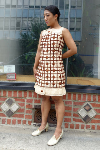 1960's Silver Tinsel Dress - SOLD