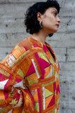 Indian Embroidered Russet Dress