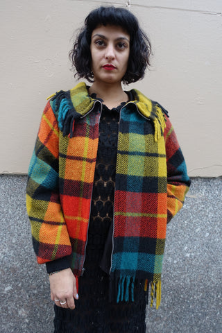 1980's Patrick Kelly Tweed Jacket