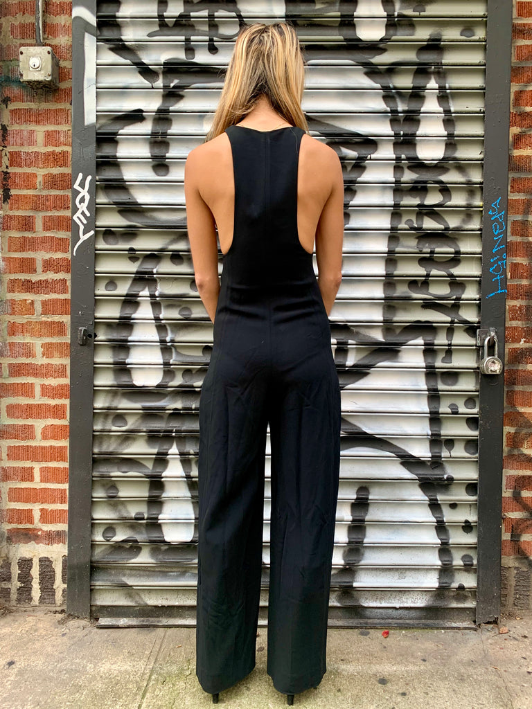 2000s Celine Zipper Jumpsuit