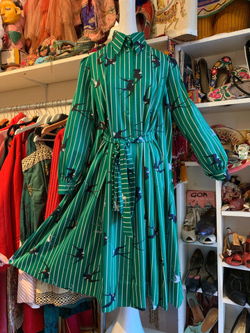 1930's Chartreuse Dress and Jacket - SOLD