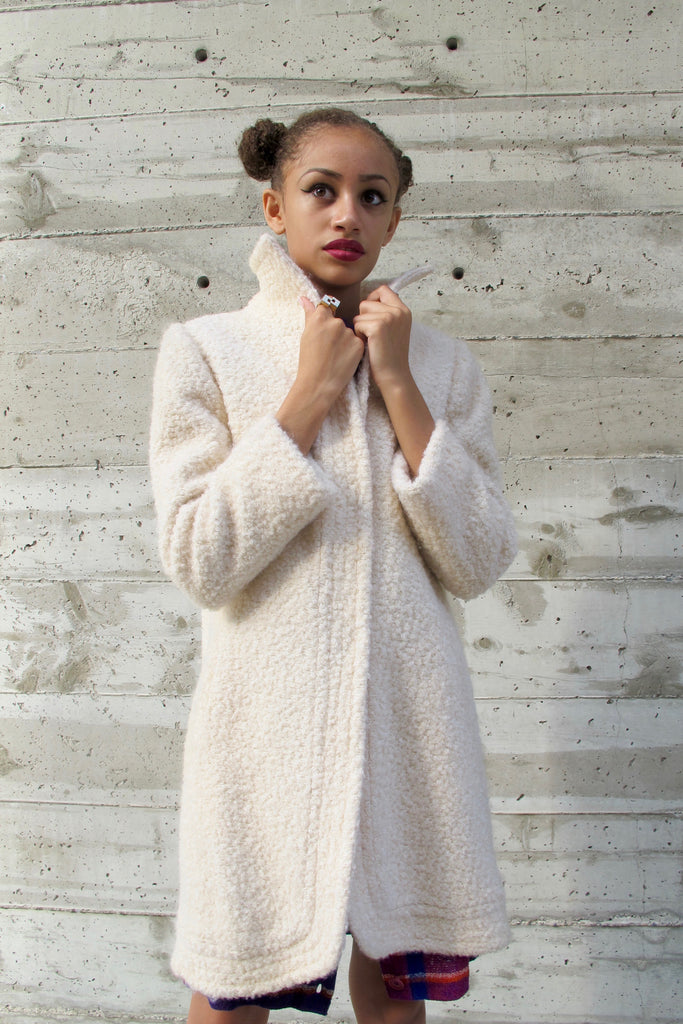 1960's Winter White Coat - SOLD