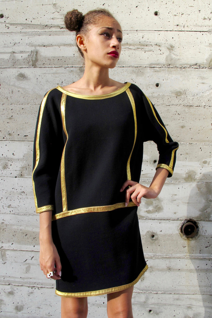 1980-90's's Donna Karan Dolman Sleeve Dress- SOLD