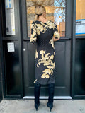 1990s-2000s Vivienne Westwood Anglomania Print Dress