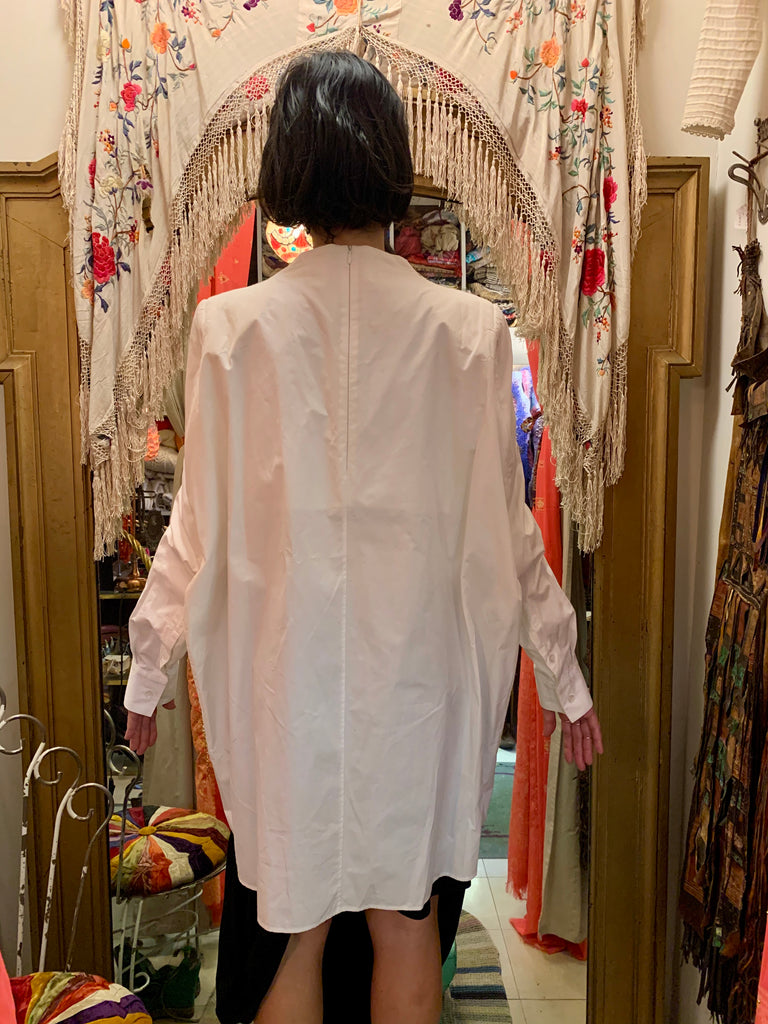 1990s-2000s Martin Margiela Oversized Shirt with Zippered Arms