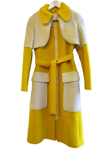1980's Anne Klein Tweed Mohair Coat - SOLD