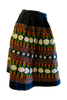 Embroidered Wool Skirt - SOLD