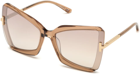 Tom Ford FT0766 Gia Women Sunglasses