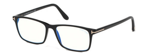 Tom Ford FT5584-F-B Eyeglasses