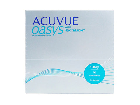 1 day Acuvue Oasys with Hydraluxe 90 Pack
