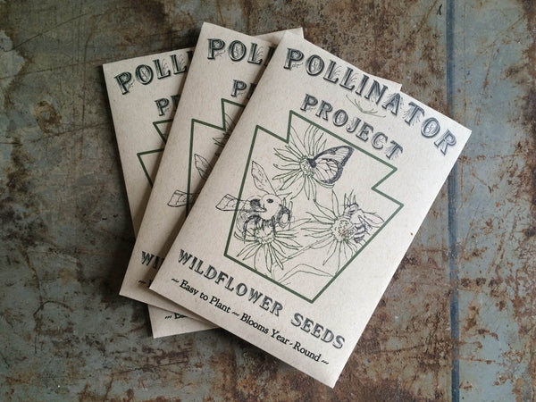Triple Wildflower Seed Packet