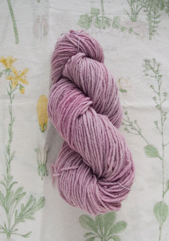 Naturally Dyed Bubblegum Pink Yarn