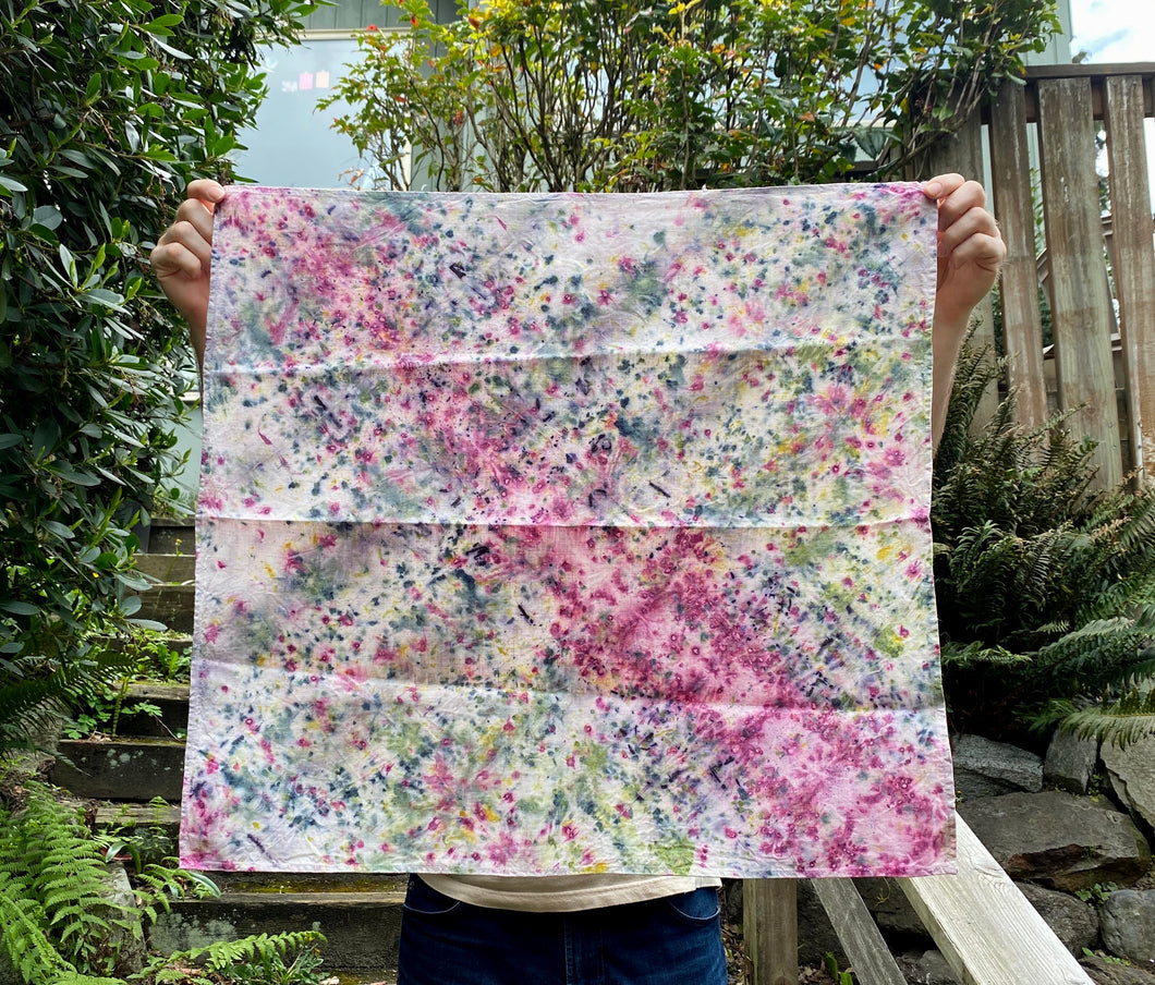 Here Comes Spring Tea Towel
