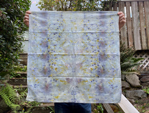 Spring Windowpane Tea Towel