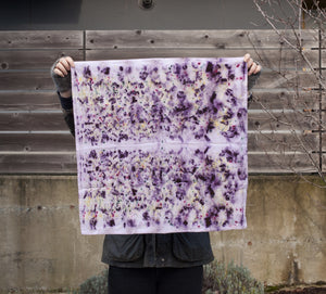 Purple Rain Bundle Dyed Tea Towel
