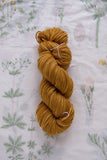 Naturally Dyed Copper Superwash Merino Yarn