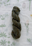 Mushroom Indigo Dyed Superwash Sport Yarn