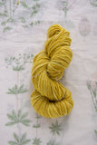 Naturally Dyed Sunflower Yellow Merino Yarn
