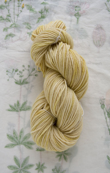 Naturally Dyed Soft Butter Wool Yarn