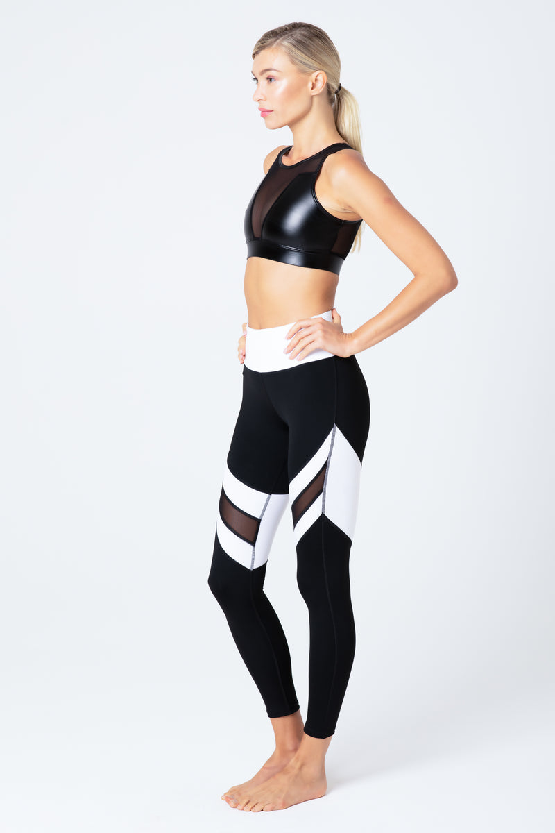 HEAT LEGGING WHITE