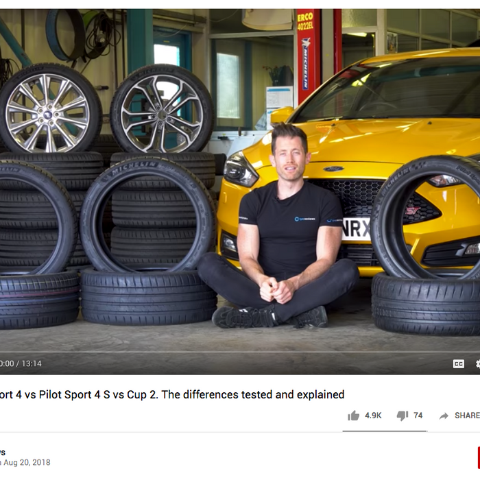 Which Michelin? 4 vs. 4S vs. Cup 2