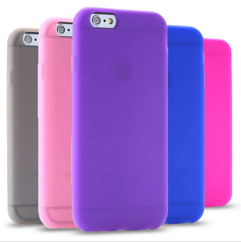 Candy Colors Luxury Thin Back TPU Case