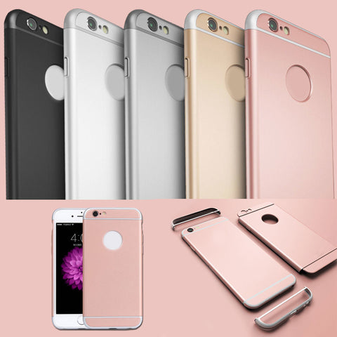 Luxury Ultra Slim Hybrid Armor Case Cover Three Cladd Joint Coque Housing Phone Cases 6/6S 6 Plus/6S Plus