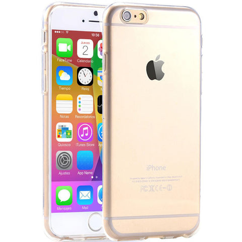 Super Flexible Clear Case For Iphone 6 4.7'' Cover Crystal Simple Back Mobile Shell Pure Soft Style Best Quality RCD04171