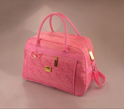 Hello Kitty Pink Travel Shoulder Bag