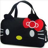 Hello Kitty Black Large Casual Tote Travel Bag