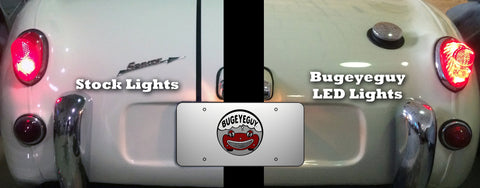 Dramatically improve visibility with our Bugeyeguy LED light kit