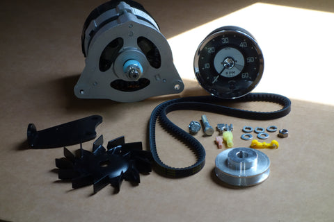 Austin Healey Sprite Alternator and Electronic Tach Conversion Kit Mechanical - Bugeye