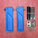 Austin Healey Sprite Door check strap kit with hardware (sold as a pair) Interior - Bugeye