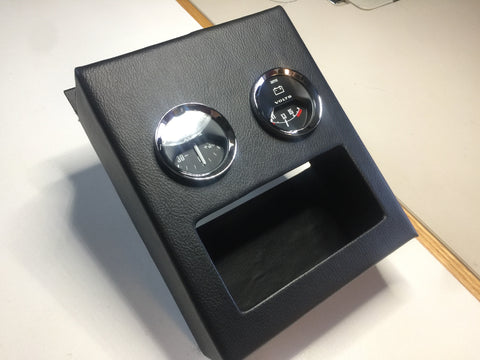 Spridget custom gauge console