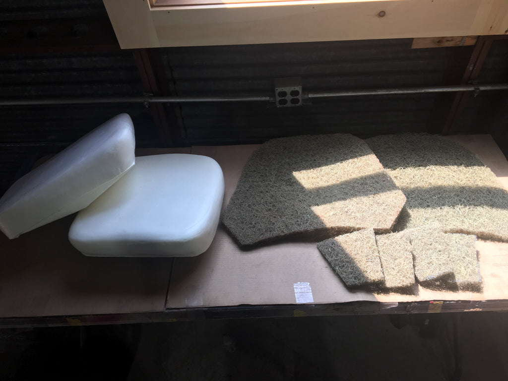 Austin Healey Sprite Seat Padding Set for both seats, backs and bases Interior - Bugeye