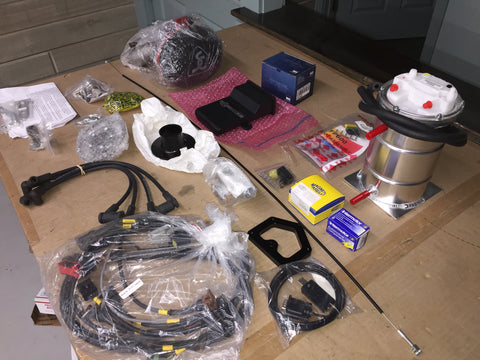 Fuel injection kit for 1275 Spridgets