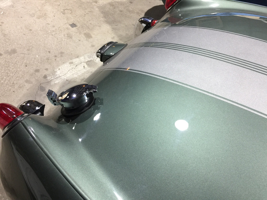 Austin Healey Sprite Flip Up Racing Fuel Cap Exterior - Bugeye