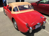 Austin Healey Sprite Pebble Grain Convertible Tops Tops - Bugeye