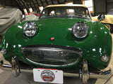 Austin Healey Sprite Lucas PL700 Headlights - Tri Bar look with brighter H4 bulb! Sold as a pair Lighting - Bugeye