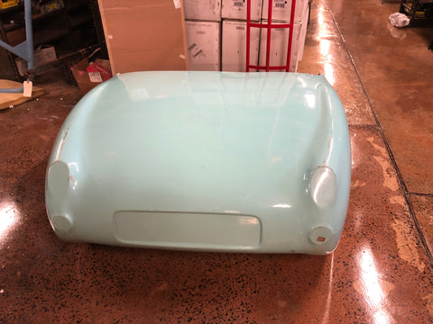 Bugeye Sprite Mark 1 rear clip, fenders and rear deck, fiberglass