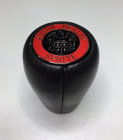 Leather shift knob