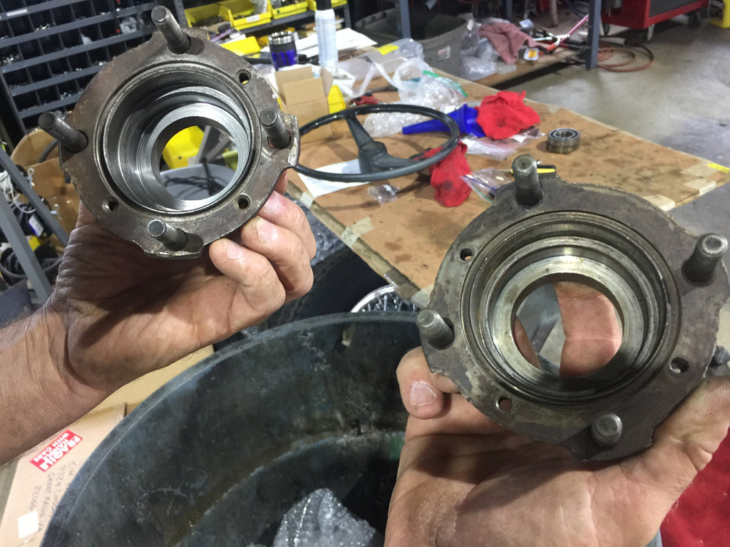 Austin Healey Sprite Used original rear hubs/ bearing carrier  - Bugeye
