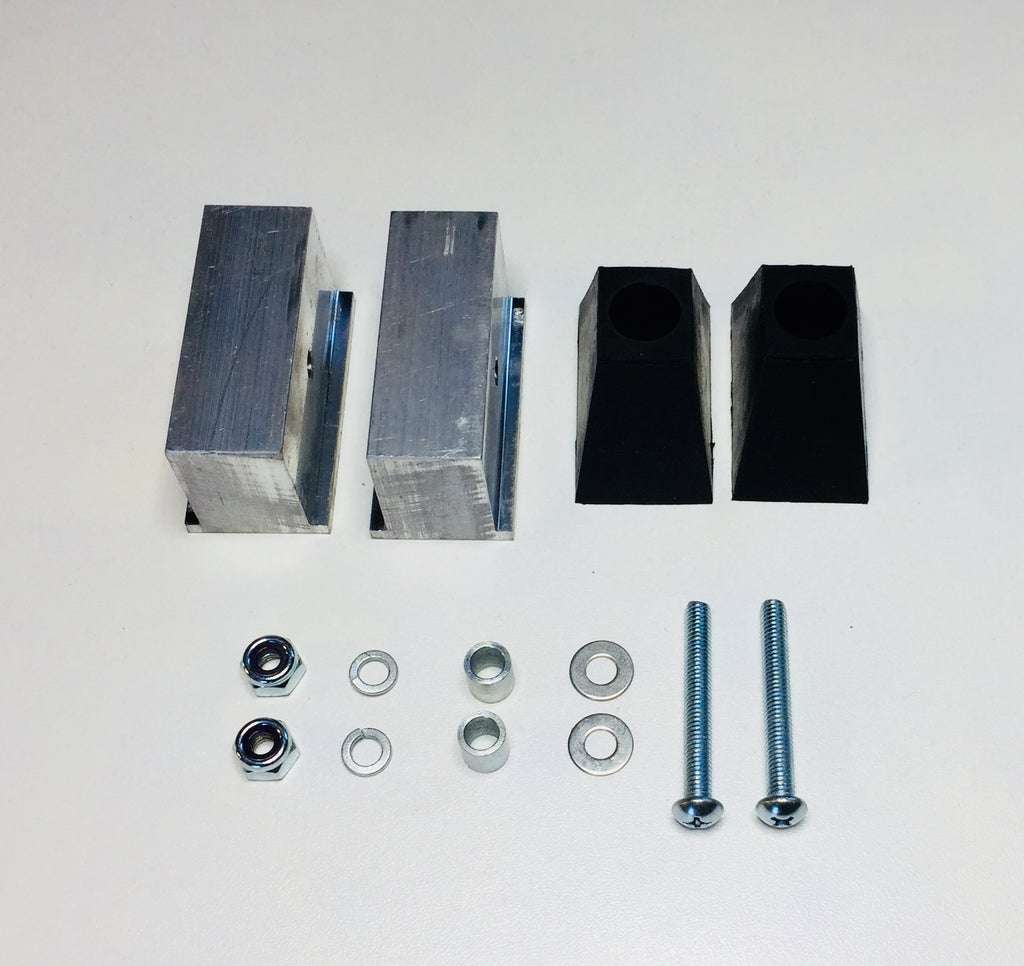 Austin Healey Sprite Wheel Arch Bonnet Buffer Kit Exterior - Bugeye