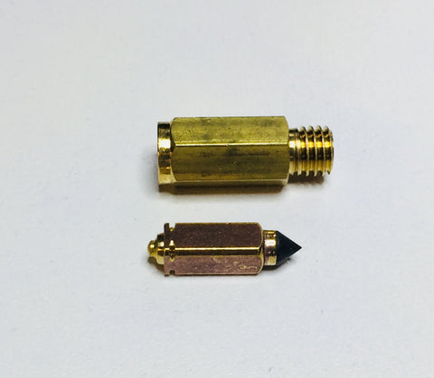 Austin Healey Sprite Float Needle and Seat - Viton Tip-for one carb (get two per dual carb car)  - Bugeye