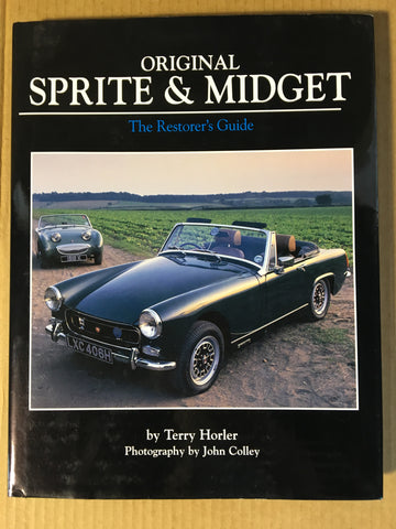 Austin Healey Sprite Original Sprite and Midget Restorers Guide, coffee table book Books - Bugeye