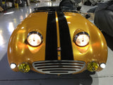 Austin Healey Sprite Tri bar vintage headlight with upgraded LED bulbs-PL 700  - Bugeye