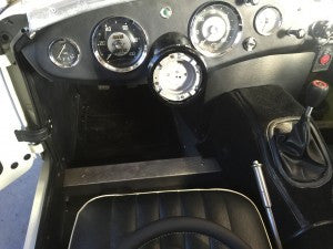 Austin Healey Sprite Removable Steering Wheel Kit Interior - Bugeye