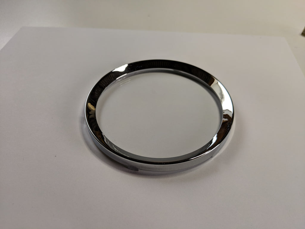 Austin Healey Sprite Instrument Gauge Chrome Retaining Ring, Large  - Bugeye