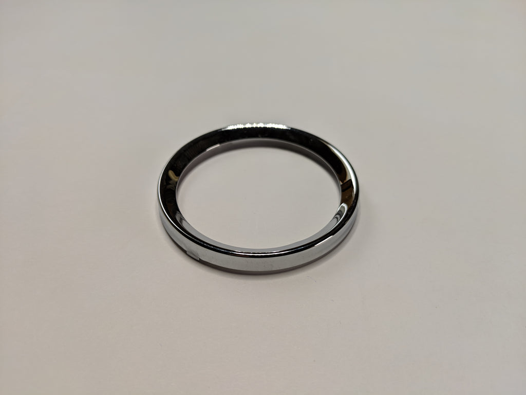 Austin Healey Sprite Chrome gauge retaining ring, small  - Bugeye