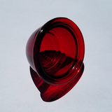 Austin Healey Sprite Red GLASS rear beehive turn signal lens (sold individually)  - Bugeye
